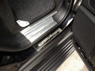 LAND RANGE ROVER VOGUE 02+ POLISHED CHROME DOOR SILL SUPERCHARGED