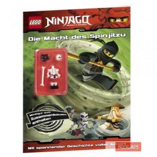 Lego Ninjago Beschäftigungsbuch 2 mit Minifigur 4192203104992