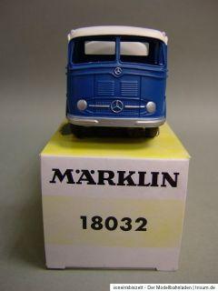 Märklin 18032 Mercedes Tankwagen ARAL für Insider / RAK Modell