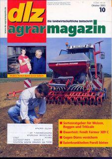 dlz 10/03 Challenger MT 865 Fendt Farmer 309 C Grimme