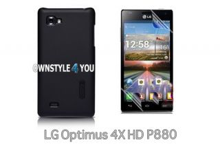 Hülle Hartschale Case Cover Tasche für LG P880 Optimus 4X + Folie R