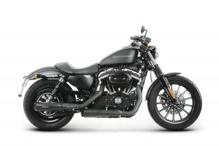 Auspuff Akrapovic Black Harley Davidson Sportster XL 883N Iron Bj. ab