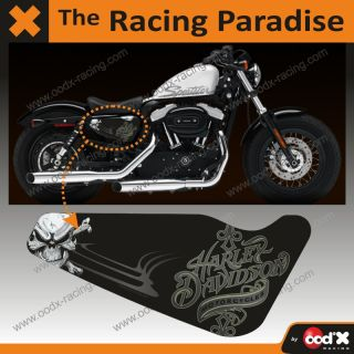 HARLEY DAVIDSON SPORTSTER sticker Forty Eight 883 1200 HD50