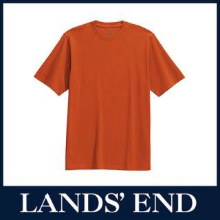 LANDS END Herren Super T T Shirt Shirt Rundhals *Sale*