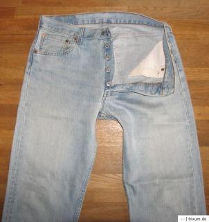 Schau mal helle LEVIS 501 Jeans W32/L32 +++