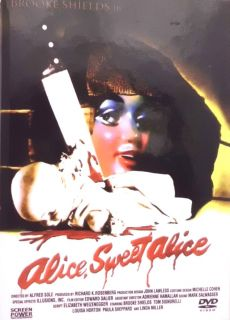 DVD Alice Sweet Alice in edler Hartbox Sonderedition mit Brooke