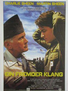 Kino 886 Filmkarte, Ein fremder Klang mit Charlie Sheen + Martin