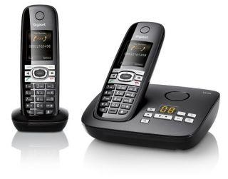 SIEMENS GIGASET C610A DUO SCHNURLOS TELEFON OVP C 610 A
