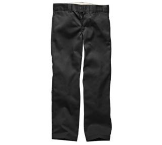 Dickies WP873 O Dog Slim Straight Chino Work Pant/Pants Hose Black