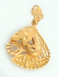 ANHÄNGER in 21 kt Gold (875/000),