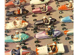 1958 QUARTER MIDGET GO KART AUTO RACING MINI INDY PHOTO