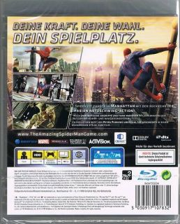 Playstation 3 PS3 Spiel The Amazing Spiderman Spider Man NEU