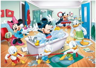 1000 TEILE PUZZLE, MICKEY MOUSE & FRIENDS, TREFL