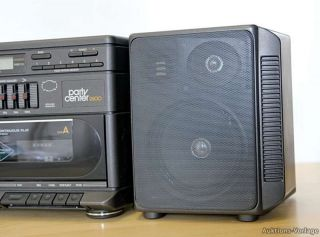 GRUNDIG PARTY CENTER 2600 Ghettoblaster Boombox Radiorecorder