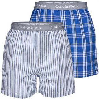 Calvin Klein CK Kids 2er Pack Kinder Jungen Web Boxershorts Unterhose