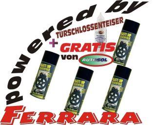 PLASTI DIP FELGENFOLIE 4x400ml schwarz matt Schablone+ Reinigungstuch+