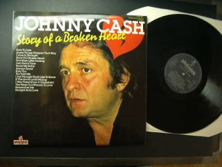 JOHNNY CASH Story Of A Broken Heart UK SHM 897   LP