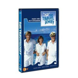 DAS TRAUMSCHIFF FOLGE 1 + 2 ~ DVD / NEU 0828766141795