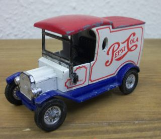 Vintage Lesney Toys Matchbox Ford Model T Pepsi Cola Van 1978