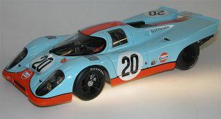 AutoArt, Porsche 917 K Steve McQueen, Gulf Racing, 1/18 very rare