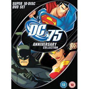 DC COMICS 75TH ANNIVERSARY DVD BOXSET NEW DC UNIVERSE