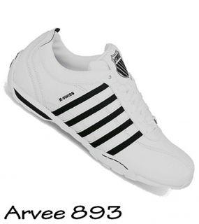 K swiss Berlo Herren Sneakers Turnschuhe Freizeitschuhe 03240 109 m Weiss Blau