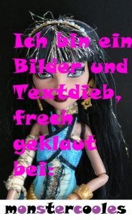 NEU 1 Edition Monster High Cleo de Nile aus Set mit Deuce Gorgon pupee