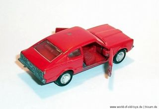 SCHUCO 166 Modell No.301838 Ford Taunus Coupe GXL 70er Jahre