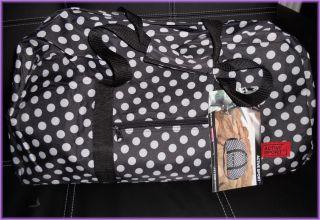 Reisetasche Rockabilly Rockabella Gothic Tasche Polka Dots emo Punkte