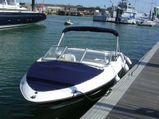 Regal 1800 LSR Diesel Power Boat with trailer