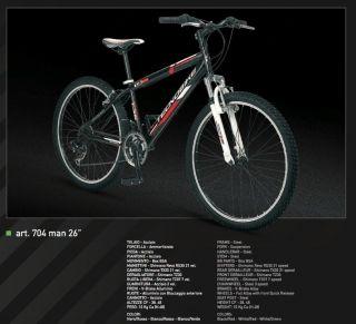 740 BICI BICICLETTA tg. 48 bianco o nero HYBRID IBRIDA ALLUMINIO 2012