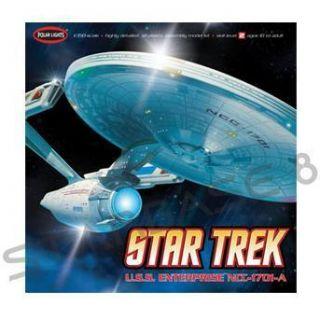 USS ENTERPRISE NCC 1701 A   STAR TREK POLAR LIGHTS BAUSATZ