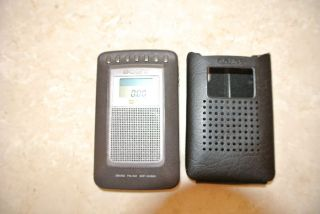 Sony Mini Radio 2 Band FM/AM SRF SX906