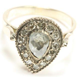 antiker Damen Diamantring um 1900 ANTIK Ring mit Diamanten Diamant