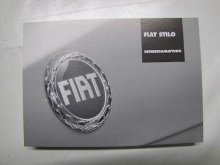 Fiat Stilo BETRIEBSANLEITUNG 914