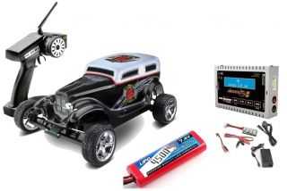 Ansmann 124000021 Hot Rod Brushless 2.4 GHz On Road 2WD RTR