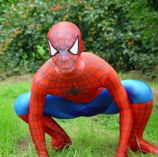 Cosplay Lycra Spandex Spider man Gay Fetisch Kostüme Leotard skin