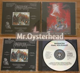 Massacra Final Holocaust 1st Press French Death Metal