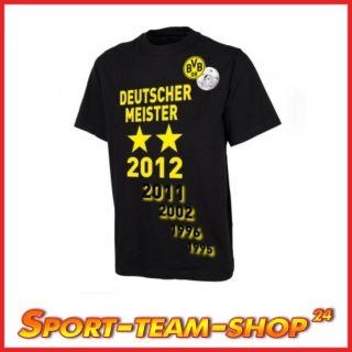 Original Meister T Shirt Borussia Dortmund / BVB Deutscher Meister