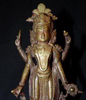 Alte hinduistische Bronze aus Asien Indien   SHIVA   Darstellung mit