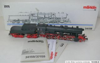 Märklin 3715 Dampflok mit Tender BE 52 Digital OVP
