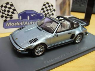 PORSCHE 911 930 Turbo Flatnose SE Targa blue NEO 143