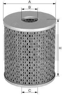 MANN Oelfilter Oel Filter Filtereinsatz H 932/2 t