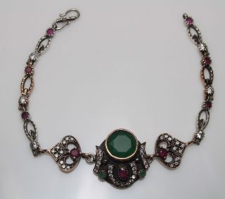 Armband 925 Silber Bileklik Ottomann Huerrem Sultan Tugra Tughra