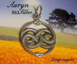 sehr schön AURYN Symbol f.d.Unendlichkeit 925erSilber Mittelalter