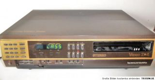Video 2000 Recorder Grundig 2x 4 Stereo   für Bastler