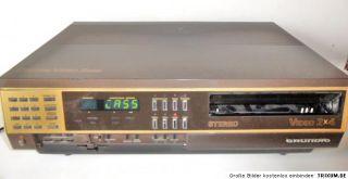 Video 2000 Recorder Grundig 2x 4 Stereo   für Bastler