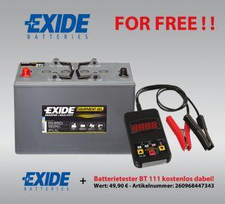 GEL Batterie Exide 12V 85AH ES950 G85 Boot Wohnmobil inkl