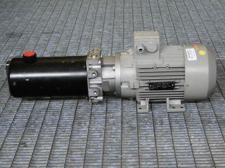 Oil SYSTEM Pumpe HF/02.2002 mit Siemens 1LA7096 2AA10