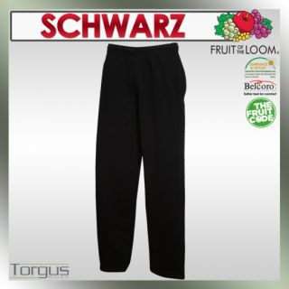 Hose FRUIT OF THE LOOM Open Leg Pants S M L XL XXL Jogginghose